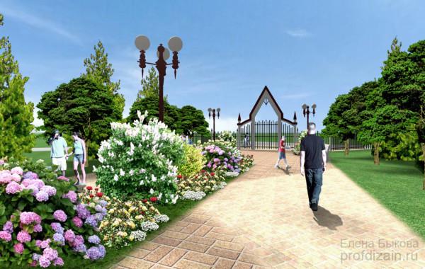 Парк в Азово
